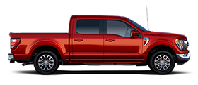 2021 Ford F One Fifty LARIAT in Rapid Red