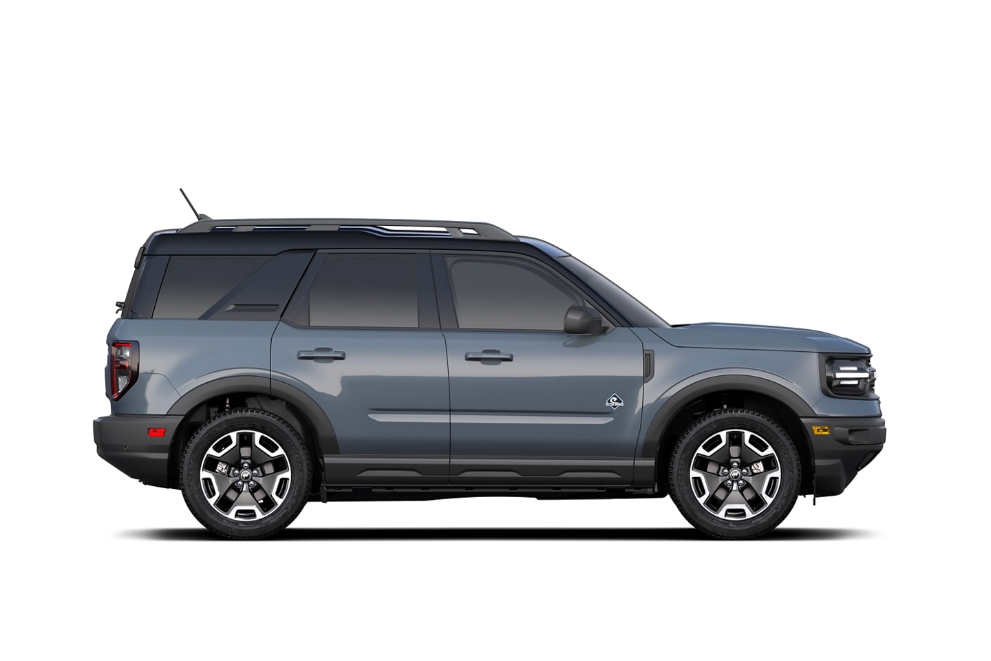 2022 Ford Bronco™ Sport Outer Banks™ model shown in profile